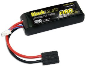 Аккумулятор Black Magic LiPo 11.1V 3S 30C 1400 mAh - BM-A30-1403TR