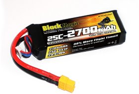 Аккумулятор Black Magic for DJI Phantom 11.1V 3S 25C 2700 mAh - BM-A25-2703XT