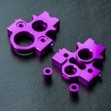 Крепление моторамы XXX Alum. motor mount set (Purple) - MST-210229P